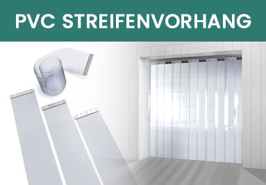 PVC Streifenvorhang transparent glasklar